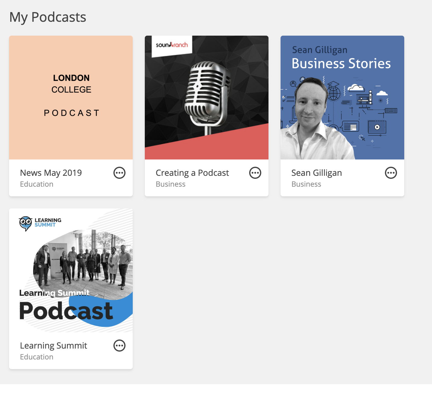 create your online podcast with Sound Branch